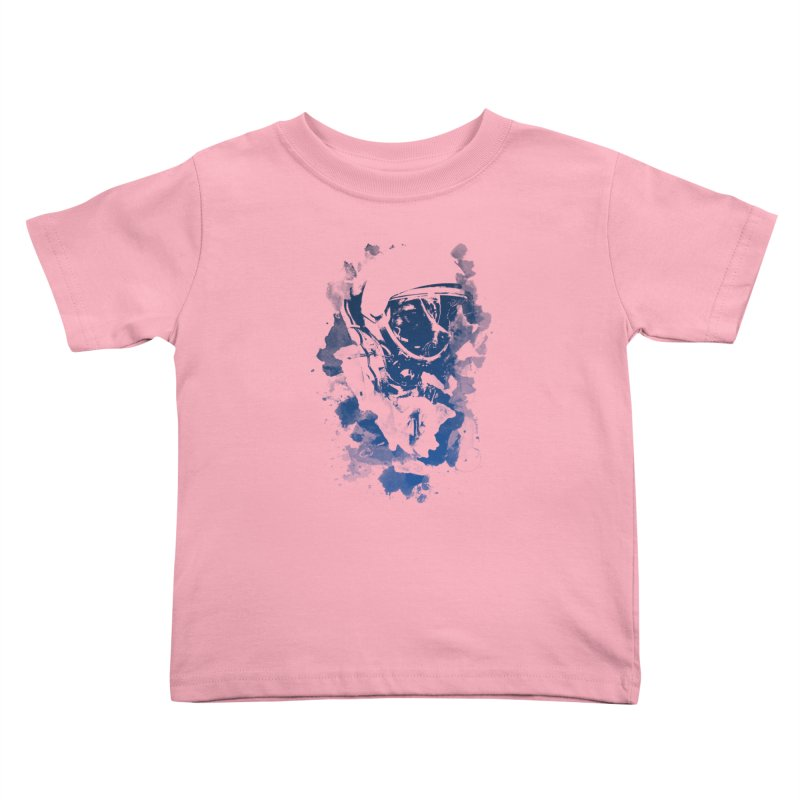 Space Dog Kids Toddler T-Shirt by Sitchko