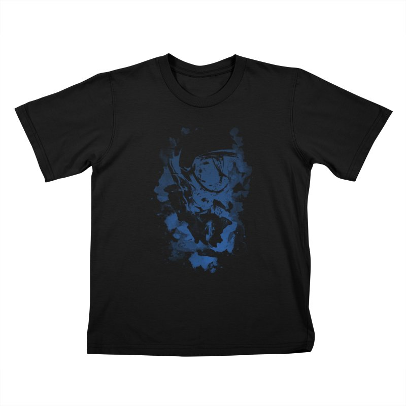 Space Dog Kids T-shirt by Sitchko