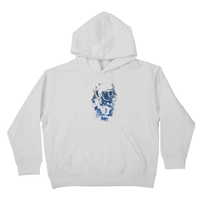 Space Dog Kids Pullover Hoody by Sitchko