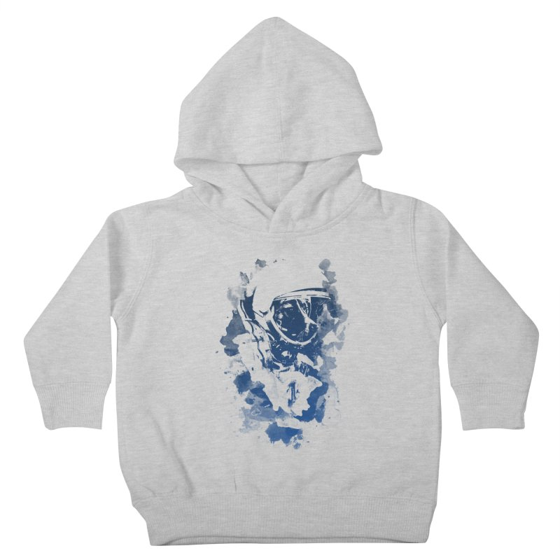 Space Dog Kids Toddler Pullover Hoody by Sitchko