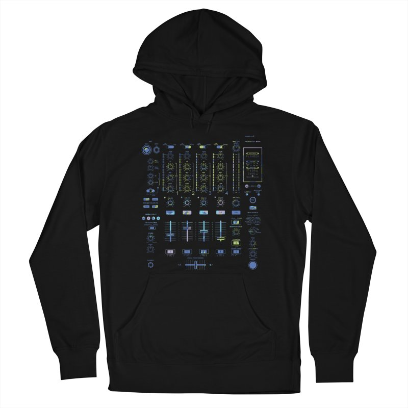 DJ Mixer Men's Pullover Hoody by Sitchko