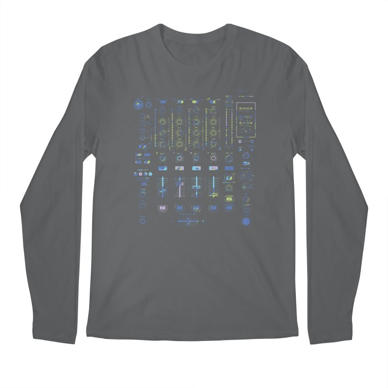 DJ Mixer Men's Longsleeve T-Shirt by Sitchko
