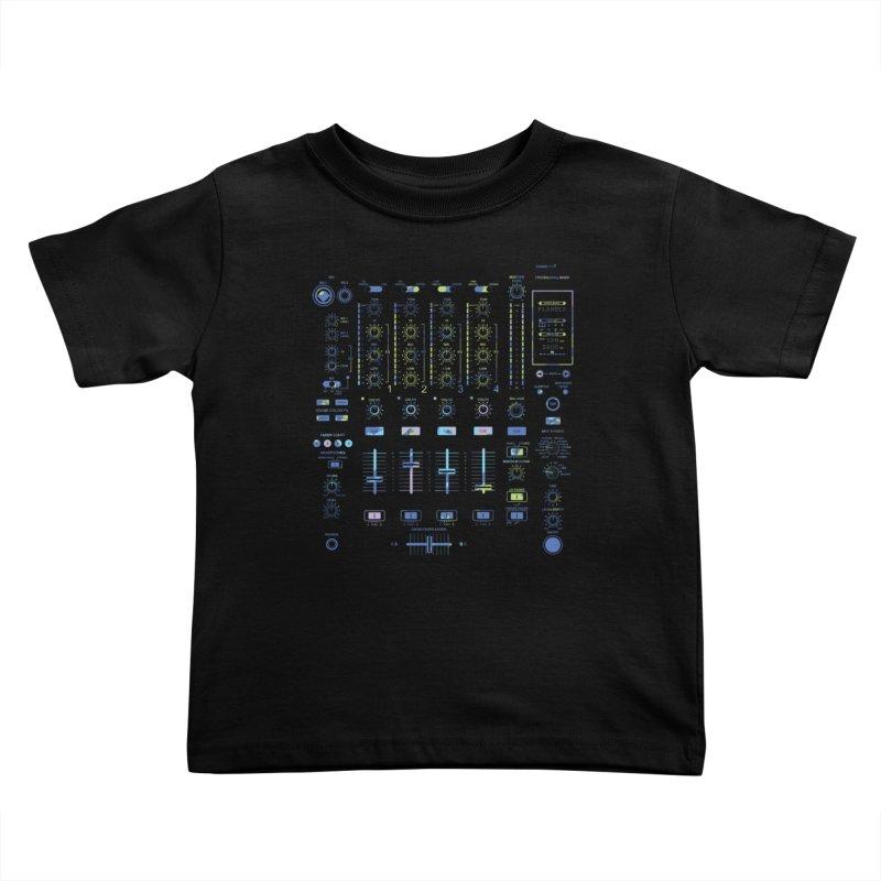 DJ Mixer Kids Toddler T-Shirt by Sitchko