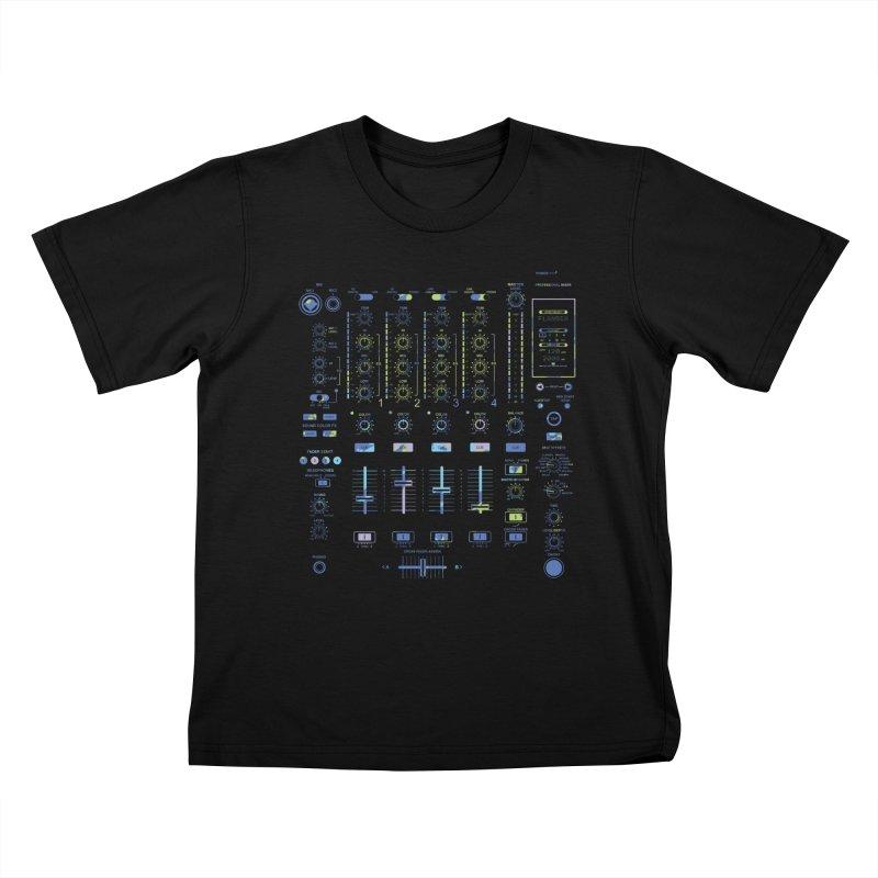 DJ Mixer Kids T-shirt by Sitchko