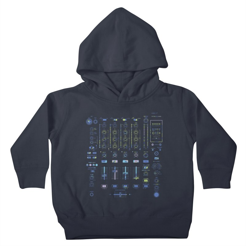 DJ Mixer Kids Toddler Pullover Hoody by Sitchko