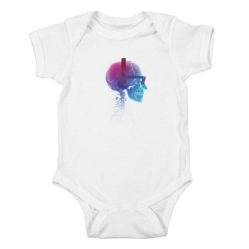 Electronic Music Fan Kids Baby Bodysuit by Sitchko