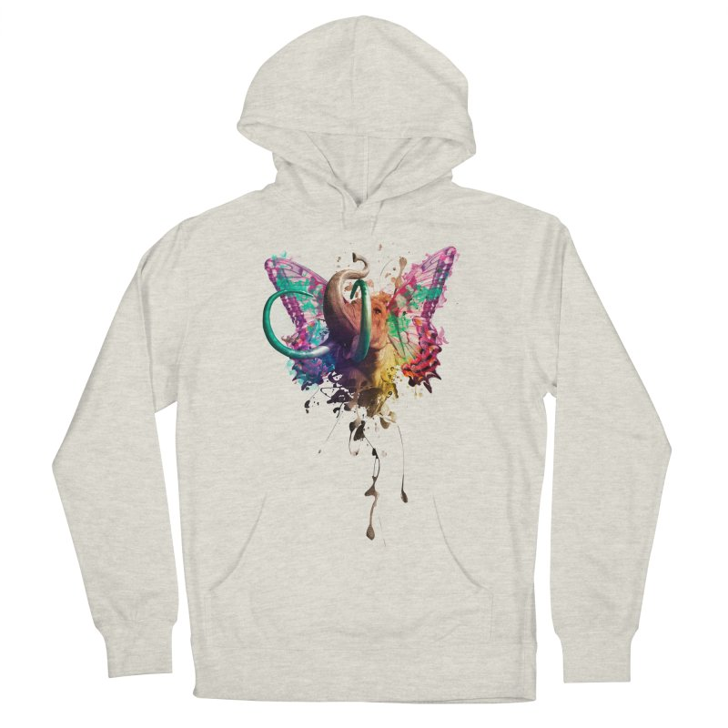 Elephant Need to Fly Women's Pullover Hoody by Sitchko
