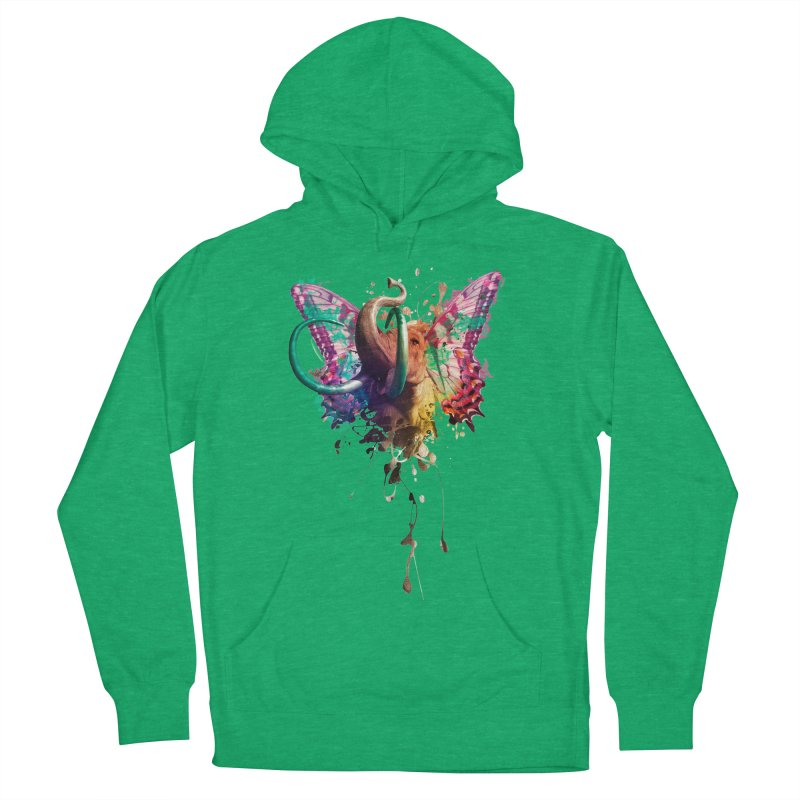 Elephant Need to Fly Men's Pullover Hoody by Sitchko