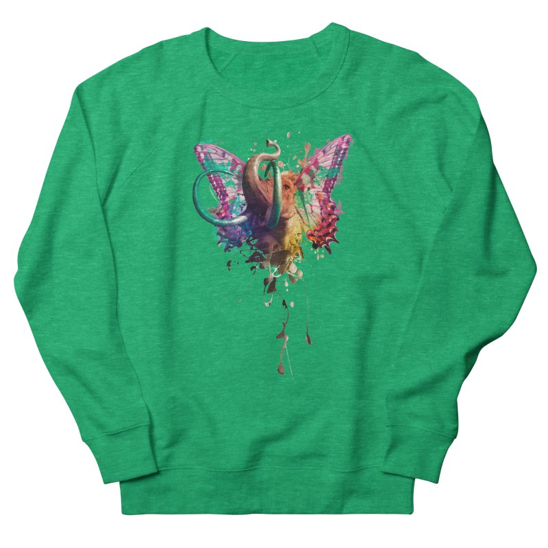 Elephant Need to Fly Women's Sweatshirt by Sitchko