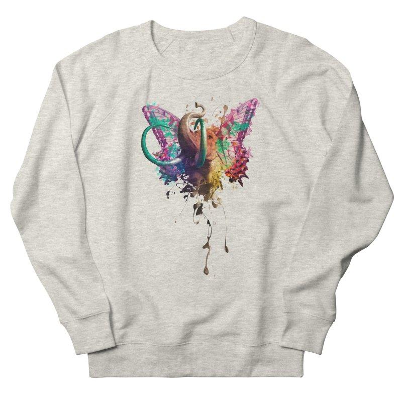 Elephant Need to Fly Men's Sweatshirt by Sitchko