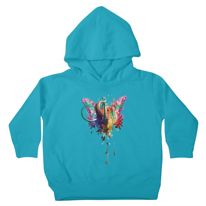Elephant Need to Fly Kids Toddler Pullover Hoody by Sitchko
