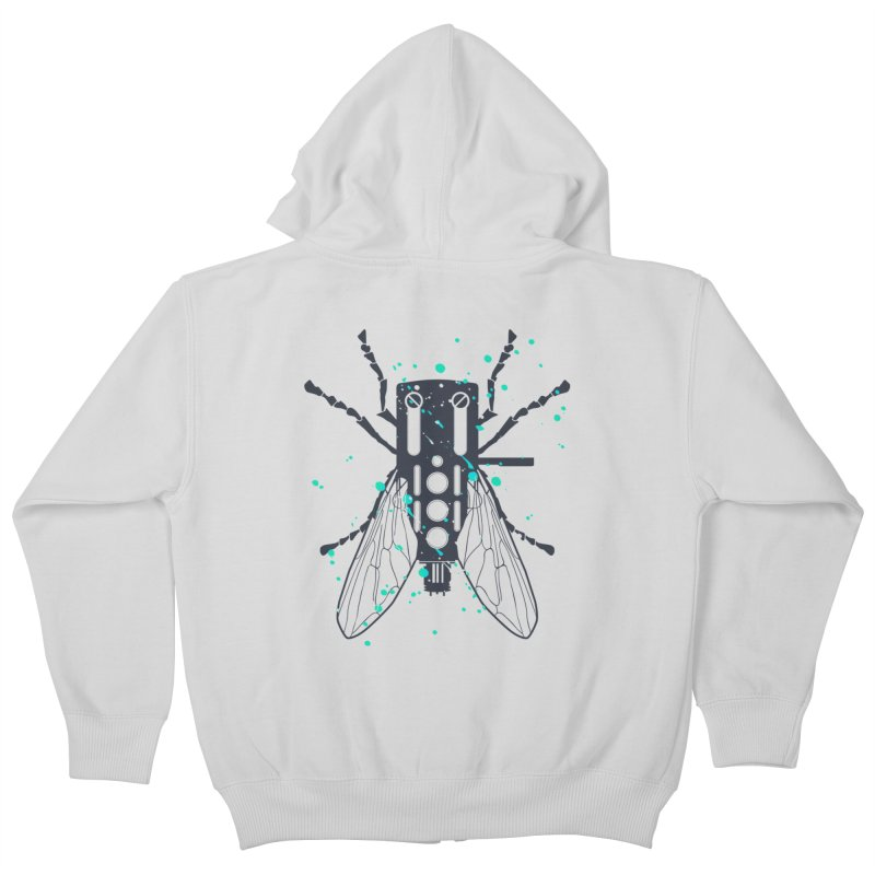 Cartridgebug Kids Zip-Up Hoody by Sitchko