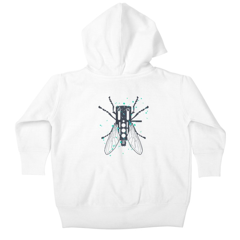 Cartridgebug Kids Baby Zip-Up Hoody by Sitchko