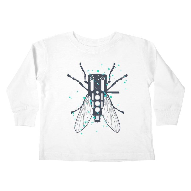 Cartridgebug Kids Toddler Longsleeve T-Shirt by Sitchko