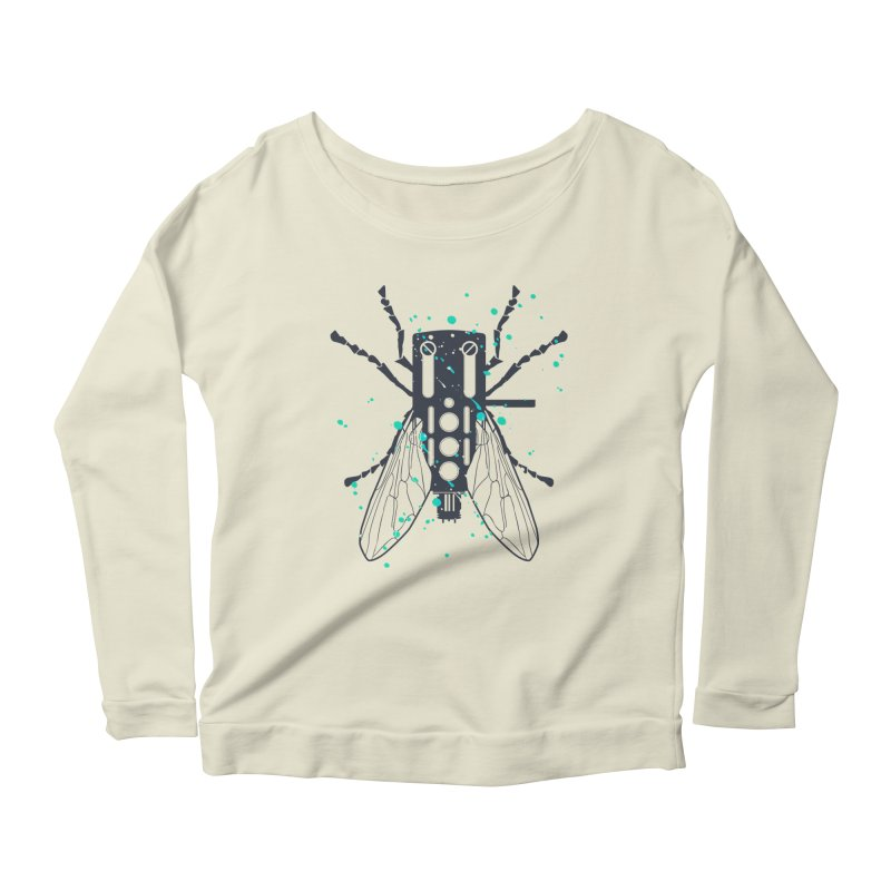 Cartridgebug Women's Longsleeve Scoopneck  by Sitchko
