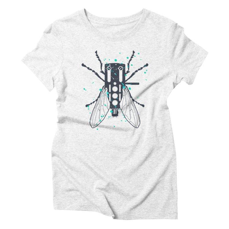 Cartridgebug Women's Triblend T-shirt by Sitchko