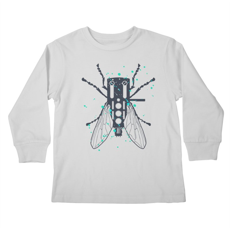 Cartridgebug Kids Longsleeve T-Shirt by Sitchko