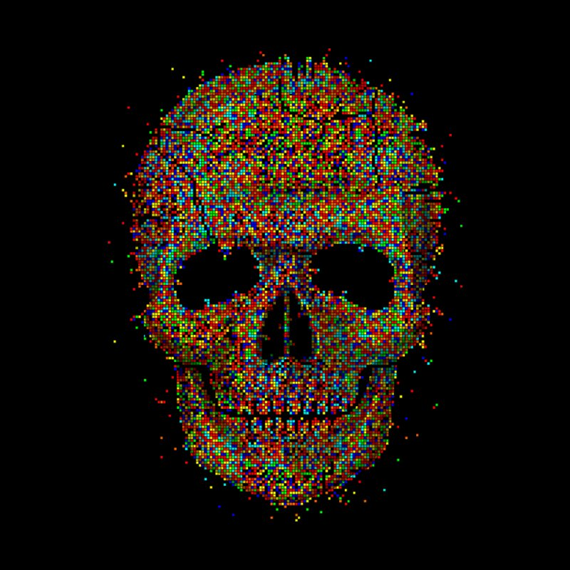 Acid Skull by Sitchko