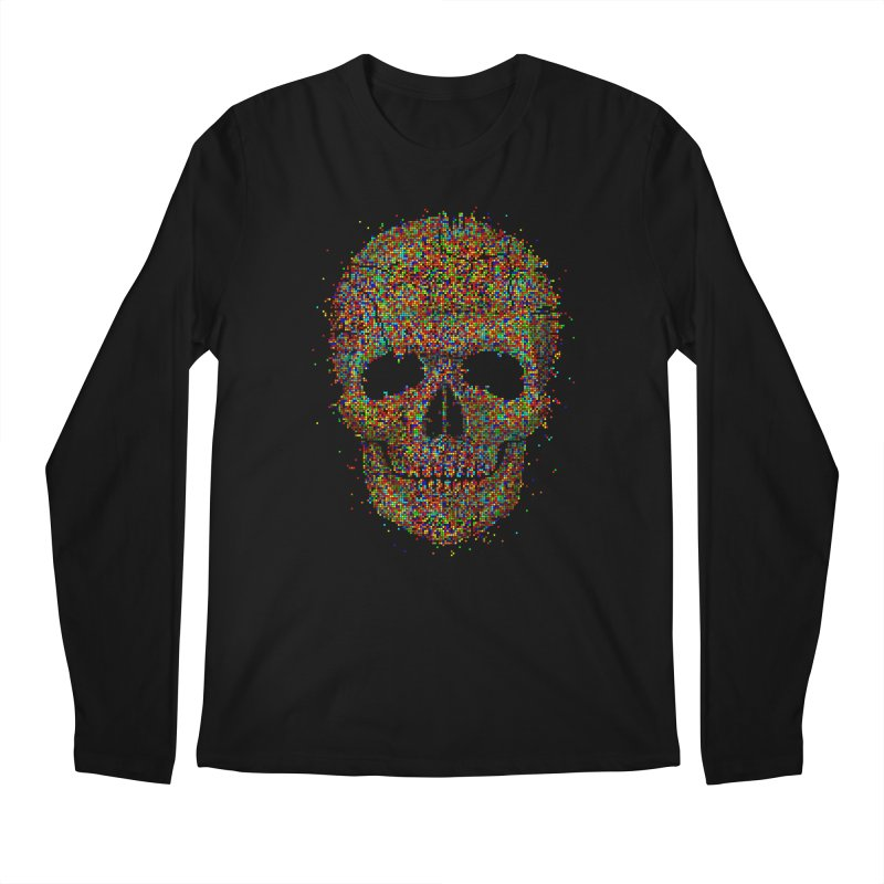 Acid Skull Men's Longsleeve T-Shirt by Sitchko