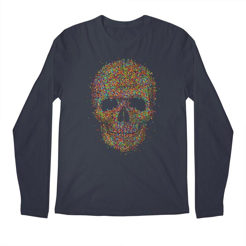 Acid Skull Men's Longsleeve T-Shirt by Sitchko