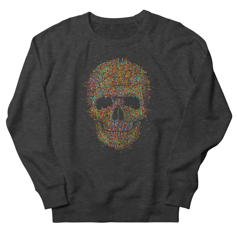 Acid Skull Men's Sweatshirt by Sitchko