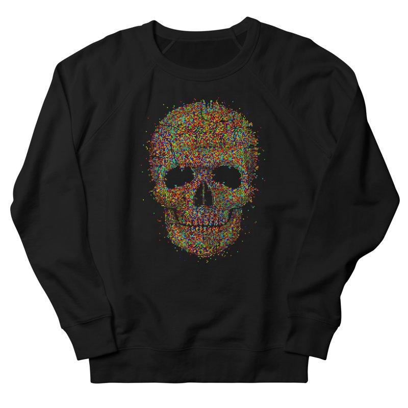 Acid Skull Men's Sweatshirt by Sitchko