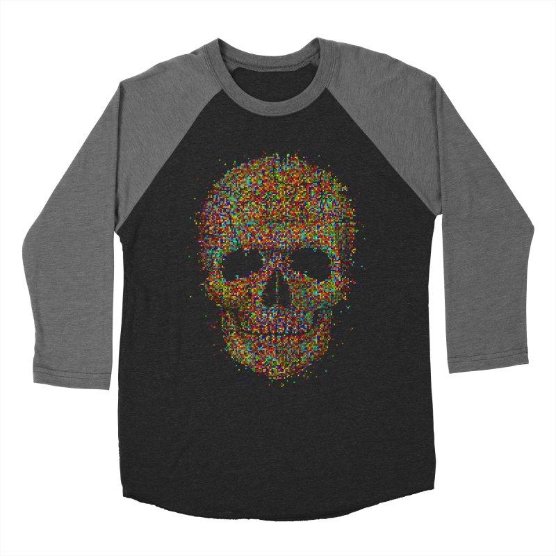 Acid Skull Women's Baseball Triblend T-Shirt by Sitchko