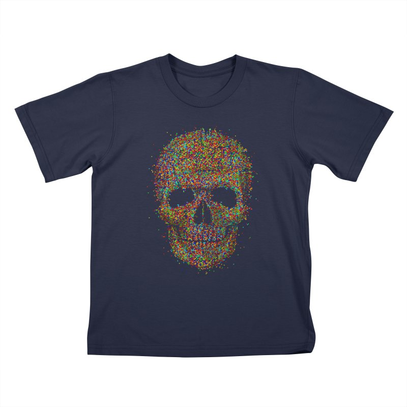 Acid Skull Kids T-Shirt by Sitchko