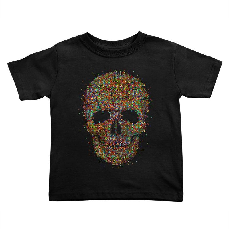 Acid Skull Kids Toddler T-Shirt by Sitchko