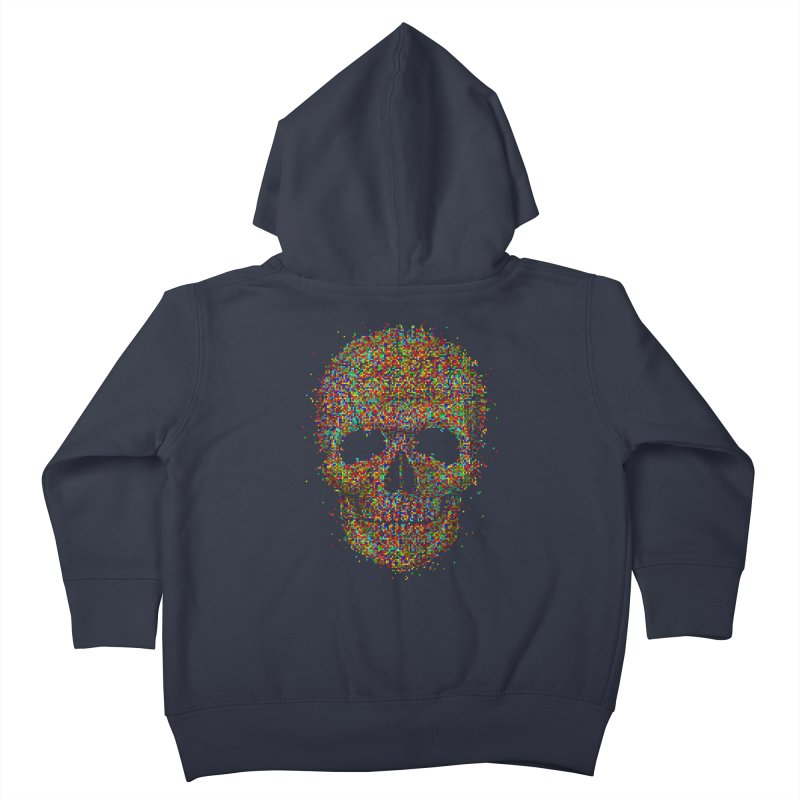 Acid Skull Kids Toddler Zip-Up Hoody by Sitchko