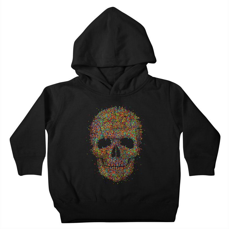 Acid Skull Kids Toddler Pullover Hoody by Sitchko