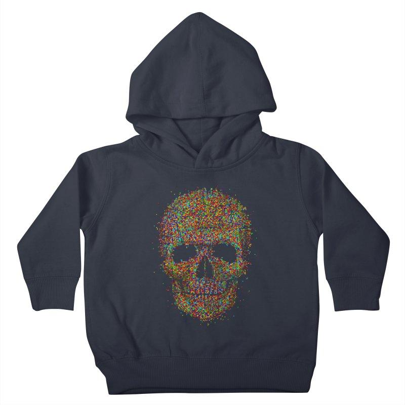 Acid Skull Kids Toddler Pullover Hoody by Sitchko