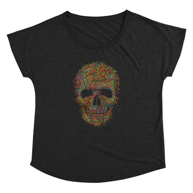 Acid Skull Women's Dolman by Sitchko