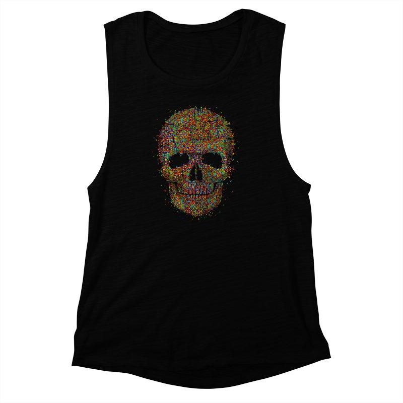 Acid Skull Women's Muscle Tank by Sitchko