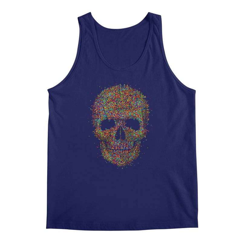 Acid Skull Men's Tank by Sitchko