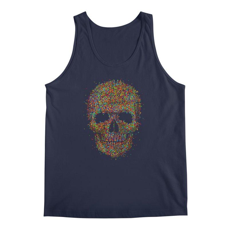 Acid Skull Men's Tank by Sitchko