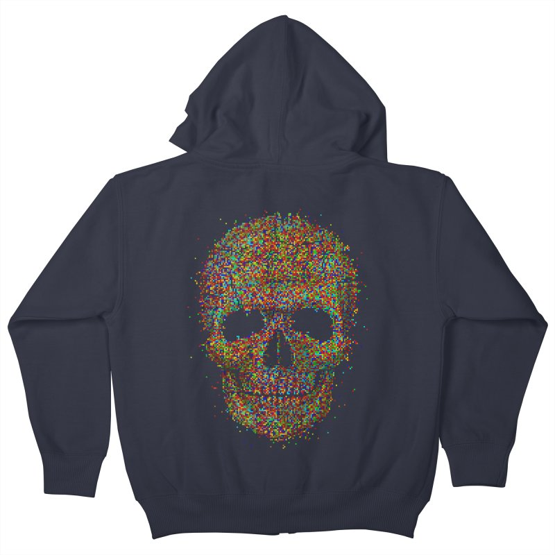 Acid Skull Kids Zip-Up Hoody by Sitchko