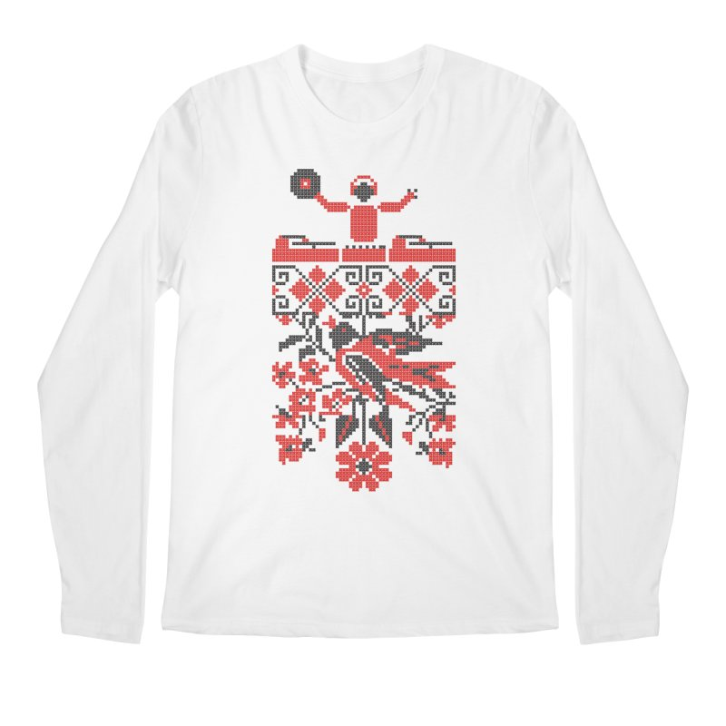 Ethno DJ Men's Longsleeve T-Shirt by Sitchko