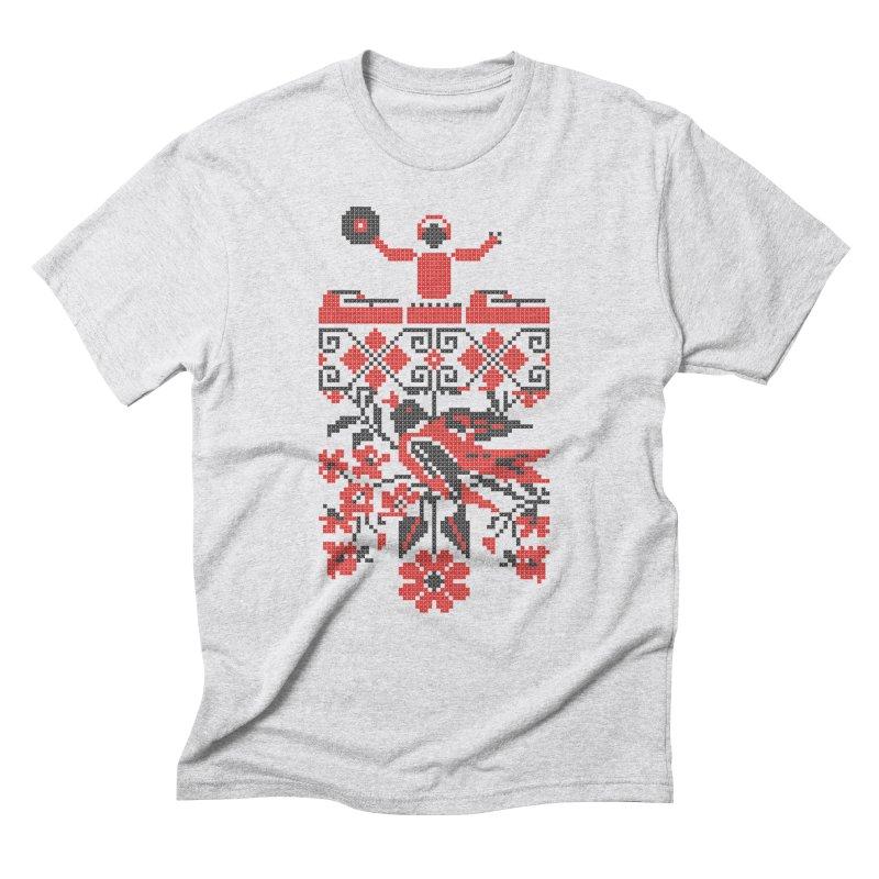 Ethno DJ Men's Triblend T-Shirt by Sitchko