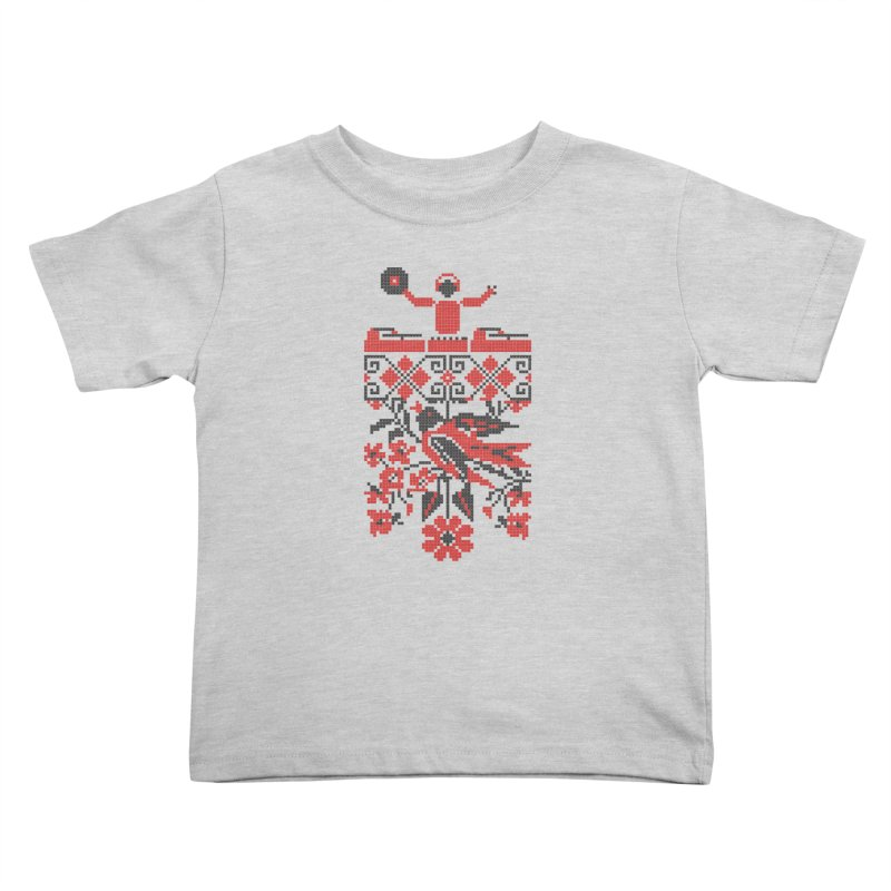 Ethno DJ Kids Toddler T-Shirt by Sitchko