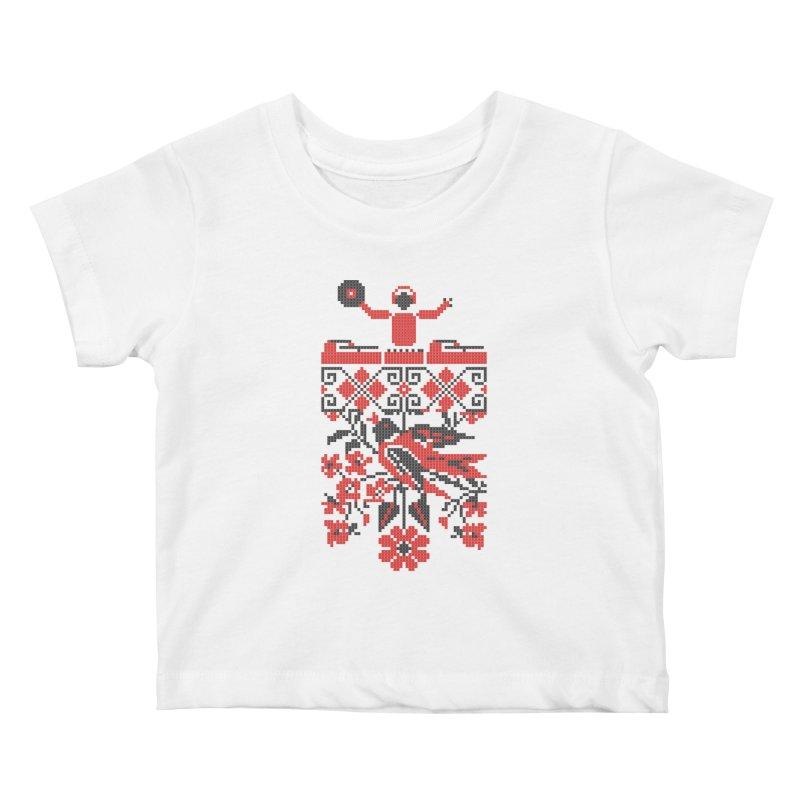 Ethno DJ Kids Baby T-Shirt by Sitchko