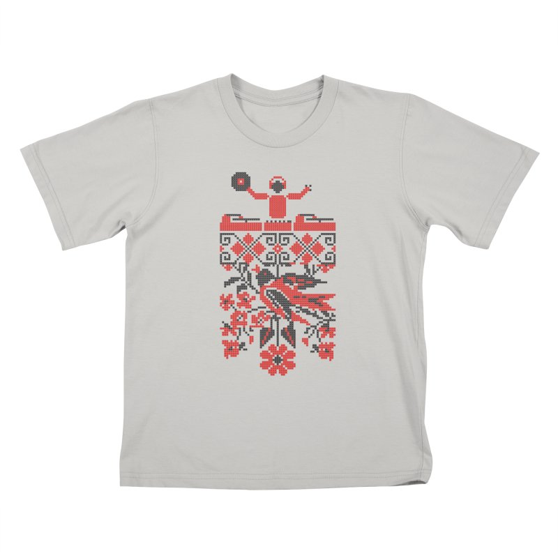 Ethno DJ Kids T-shirt by Sitchko