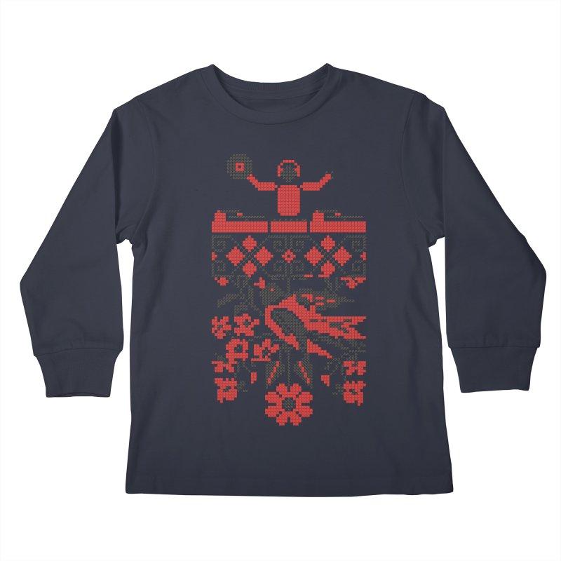Ethno DJ Kids Longsleeve T-Shirt by Sitchko