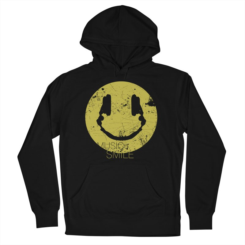 Music Smile Men's Pullover Hoody by Sitchko