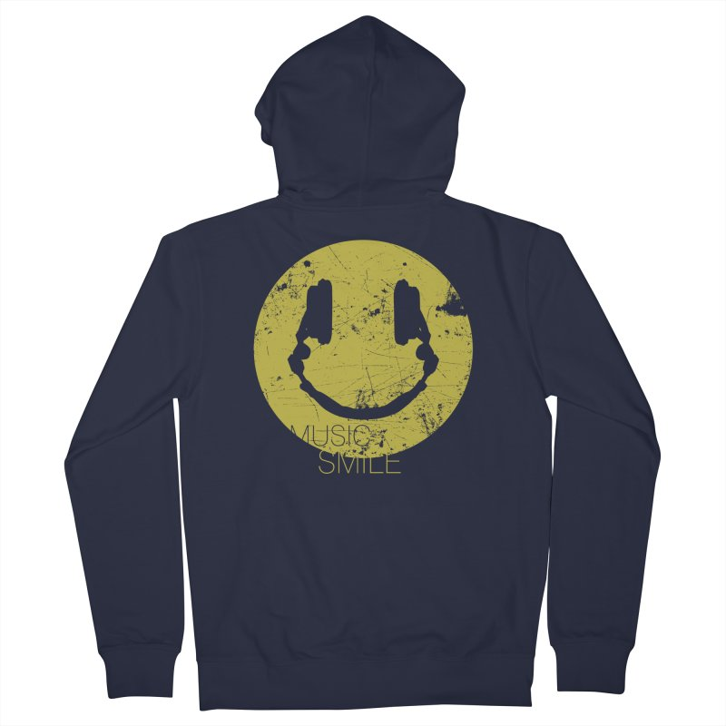 Music Smile Men's Zip-Up Hoody by Sitchko