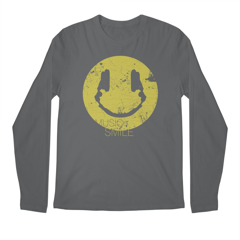 Music Smile Men's Longsleeve T-Shirt by Sitchko