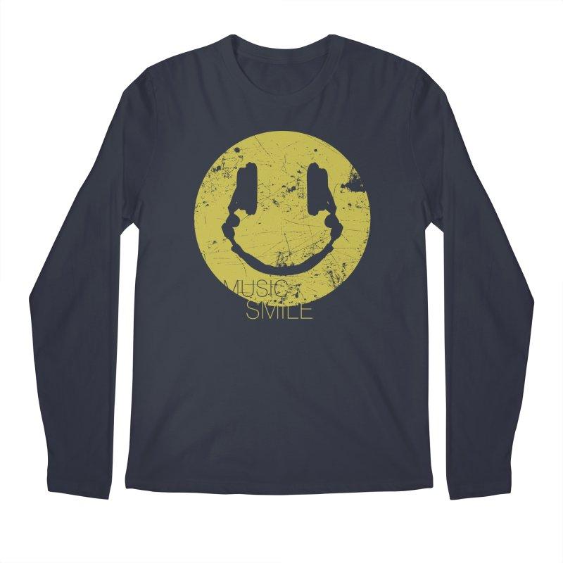 Music Smile Men's Longsleeve T-Shirt by Sitchko