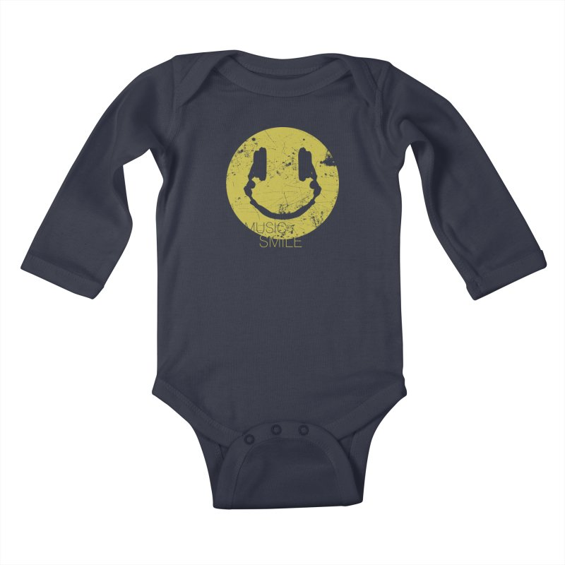 Music Smile Kids Baby Longsleeve Bodysuit by Sitchko