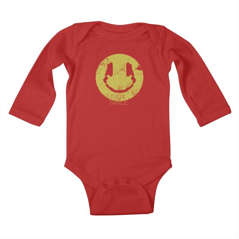 Music Smile Kids Baby Longsleeve Bodysuit by Sitchko