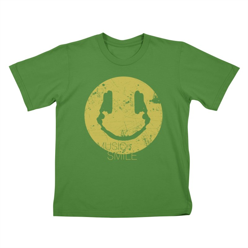 Music Smile Kids T-shirt by Sitchko